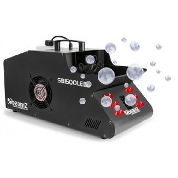 Machine à fumée et à bulles + LED GRB