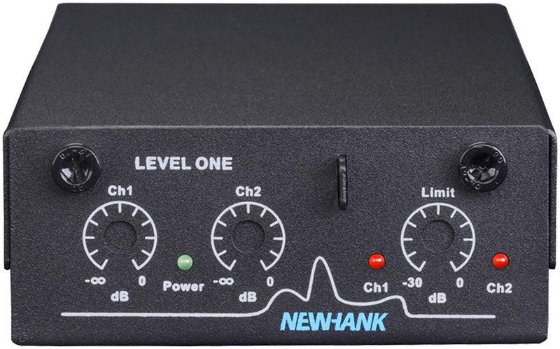 Newhank Level One Limiteur audio mural stéréo