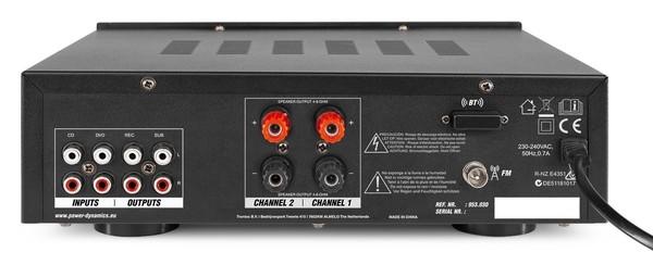 PV220BT AMPLIFICATEUR AUDIO, 100 W