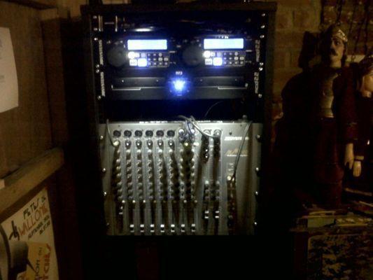 Angel's Sound - Musee - installation compléter système sonore et éclairage LED