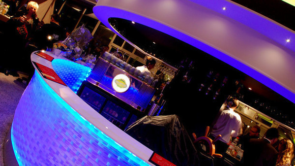 Angel's Sound - Villa Marina - installation système sonore + Eclairage LED plafond et bar